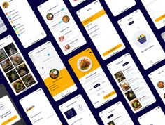 Foode - Best Food Order Mobile App by Capi Creative on Hight Light, Web Portfolio, Web Colors, Web Business, Delivery App, App Design Inspiration, Mobile App Ui, Web Project, Web Design