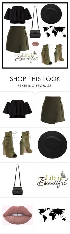 """""""Untitled #119"""" by azbie ❤ liked on Polyvore featuring beauty, Chicwish, Elie Saab, Versace and Brewster Home Fashions"""