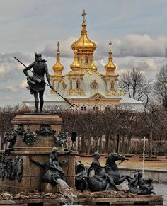 Russian Architecture, St Petersburg Russia, Historical Monuments, Imperial Russia, Beautiful Places In The World, Cool Countries, Kirchen, Venice Italy, Beautiful Landscapes