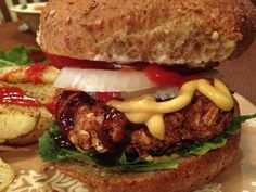 Jeff Novick's Red Bean Burgers from Plant Based Adventures