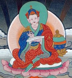 Prabahasti from Zahor served as preceptor when Ananda ordained Padmasambhava. He had studied at Nalanda and received teachings in Mahayoga from Vidyadhara Humkara. After winning accomplishment, he extracted the Vajrakilaya doctrines from the Shankarakuta Stupa located in the Sitavana cremation ground, and practicing the same, eventually acquired Enlightenment. He shared these teachings with Padmsambhava.