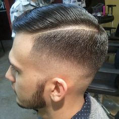 Seriously Nicely done! Hard part men's cuts and styles... Fades and beard is super nice! Men's haircuts...