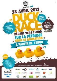 Duck Race Poster | ●• P O S T E R • F L Y E R •● | Pinterest