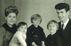 Die Gastgeberfamilie Tschiggfrey