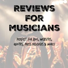 Reviews For Musicians -PLUS - Get your music reviewed & promoted! https://indiemusicplus.ecwid.com/#!/Reviews-For-Musicians-PLUS/p/58560649/category=12109871