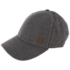 7a2c0fbbe Fred Perry Prince of Wales Checked Cap - White/Black   Grey Hat   KJ