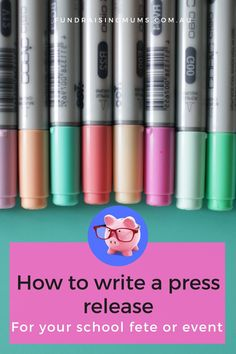 A press release is a great way to promote your school fete or fundraising event to the wider community   Fundraising Mums Writing A Press Release, Press Release Distribution, School Events, Fundraising Events, Community, Tips, Counseling