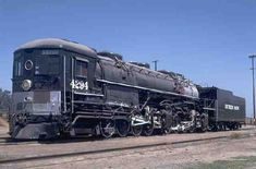 "Southern Pacific.  4-8-8-2  Class AC-6, AC7,  AC-8,  AC-10, AC11 and AC12 ""cab forward"" and articulated locomotives. Built by Baldwin Locomotive Works in 1930.  6000 H.P."