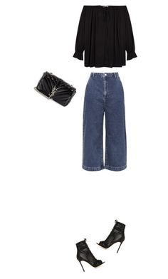 """Untitled #29"" by clment-picot on Polyvore featuring Topshop, Gianvito Rossi, Givenchy and Yves Saint Laurent"