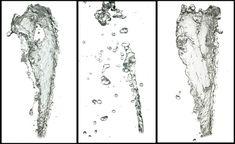 Water Splashes High Res PNG by opendimension.deviantart.com on @DeviantArt