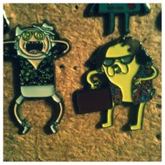 Jake & Finn Fear and Loathing Hat Pin on Etsy, $25.00