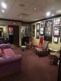 Opry House dressing room