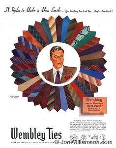 Pinwheel of Wembley Ties