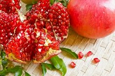 Pomegranate: Mythical Fruit of Paradise, Antioxidant Powerhouse    http://superhumanfoods.org/2012/07/the-pomegranate-mythical-ancient-superfruit-with-benefits-for-digestion-cancer-inflammation-and-heart.html