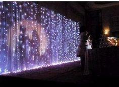 special effect lighting for parties | String Light & Fairy Lights - LED Light waterfall effect - Party ...
