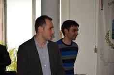 Pino e Alessandro... aspettando le domande:)