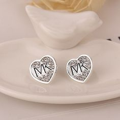 100% New! Letter MK Earrings New Without Tags. See Other Colors In My Closet. Jewelry Earrings