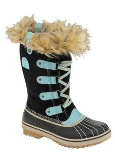 Sorel Tofino (Black/Curry) Youth Size 7 :: Black/Curry SOREL. $94.95