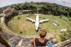 After spotting a few snaps on Instagram, and always curious to discover random abandoned things, we headed down to Kuta to explore the abandoned plane Bali. We've put a simple blog together to tell you how to find it, why it's there and if you should visit.