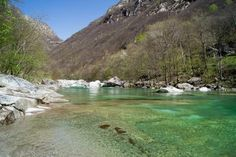 Crystal Clear Swiss River Verzasca 7