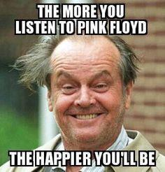 Jack Nicholson Pink Floyd