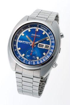 Seiko 6139 5-Speed Timer Chronograph