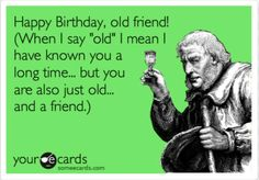 Birthday Ecards Care ~ May the candles on your birthday cake outnumber your gray pubes