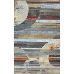 Mohawk Concord Integrated Geo Light Multi 5 ft. x 8 ft. Area Rug-396589 at The Home Depot