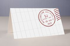 A Faraway Destination Place Cards by bumble ink at minted.com