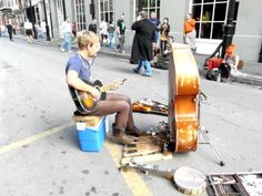 Best New Orleans street musician I've seen