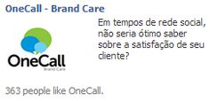 """Título terrível, nada a ver. Sobre o que é o anúncio? Brand Care, ok. """"Não seria ótimo saber..."""" Ok, talvez esse seja meu problema. Cliquei."""