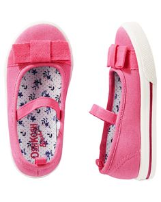 Toddler Girl OshKosh Pink Bow Flats | OshKosh.com