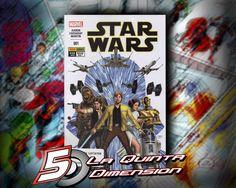 STAR WARS # 1 DE EDITORIAL PANINI, EN ESPAÑOL. $ 40.00 Para más información, contáctanos en http://www.facebook.com/la5aDimension