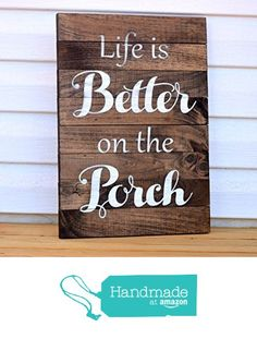 Front Porch Sign - Pallet Board Sign - Home Address Sign - Family Established Sign - Front Porch Decor - Front Porch Welcome Sign Home Decor from Country Barn Babe https://www.amazon.com/dp/B01N05AXQS/ref=hnd_sw_r_pi_dp_1kzHybGM347W1 #handmadeatamazon