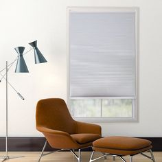 Custom Cut to Order Cordless Blackout Cellular Shade - 72'' Length, White