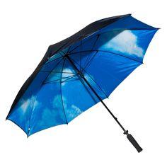 Elite Rain Umbrella Manual-Open Fiberglass Golf Umbrella - Blue Sky - GSK11-SKY