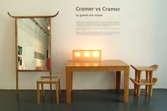 LE GRAND CHIC SUISSE by Philippe Cramer. The Swiss Cultural Center of Milan invited Philippe Cramer to show his work during the Salone Di Mobile. 2004 Cultural Center, Milan, Chic, Furniture, Home Decor, Homemade Home Decor, Elegant, Home Furnishings, Decoration Home