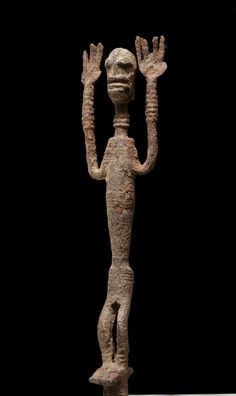 A Dogon iron sculpture of the N´Doulerie region