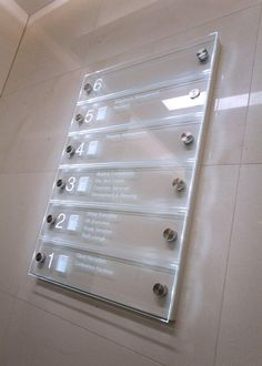 #Illuminated reception #Directory #Signage for DTZ Floor Signage, Entrance Signage, Signage Board, Directional Signage, Wayfinding Signs, Office Signage, Hospital Signage, Directory Signs, Dental