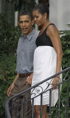 michelle obama...hummmm..what's she wearing?  A trashbag....maybe?