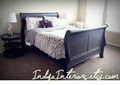 Image result for Farmhouse sleigh bed