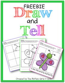 Draw and Tell  A fun way to help kids learn to draw and write!