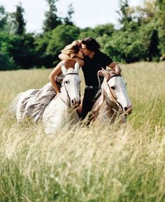 When I think of Paris, I think of romance. When I think of romance, I think of horseback riding. My Horse, Horse Love, Horse Riding, Horse Couple, Trail Riding, Pretty Horses, Horse Girl, Beautiful Horses, Great Love Stories