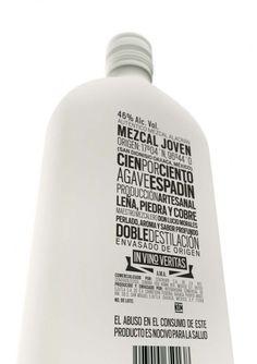 Ah, stacked type! Sociedad Anonima : Autentico Mezcal Alacran #Packaging #Bottle #Alcohol
