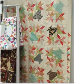 A beautiful basket quilt from Joanna's new Farmhouse collection 2015.