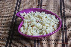 Uppu Pindi - Arisi Upma South Indian Breakfast Recipes, Special Recipes, Rice, Food, Meals, Yemek, Jim Rice, Eten, Brass