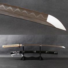 Real Samurai, Samurai Swords, Swords And Daggers, Knives And Swords, Katana, Leather Handle, Real Leather, Elemental Powers, Japanese Sword