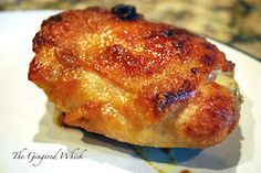 Honey Baked Chicken - one of the easiest and best chicken recipes.