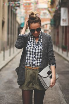 Cool Styles with Shorts and Tights