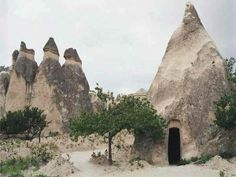 'Derinkuyu Underground City' a huge archeological city underground which is enough for 30.000 persons to live in it